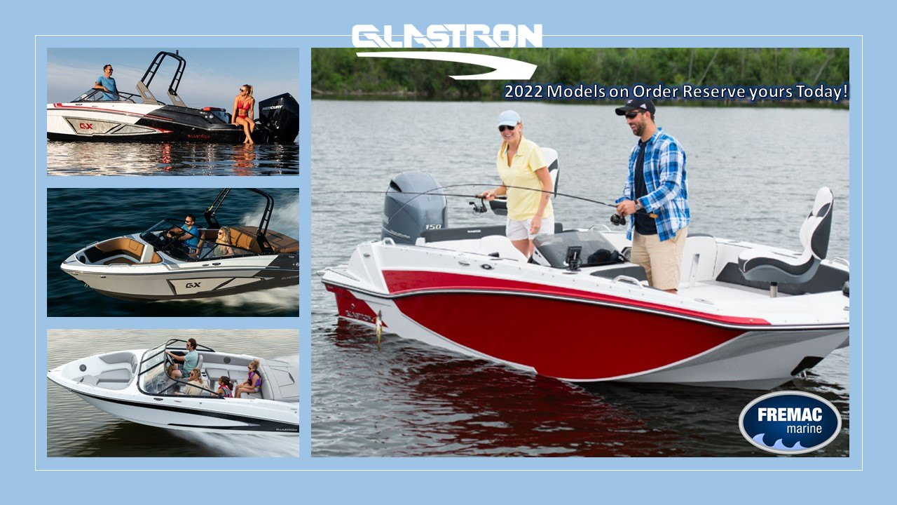 Glastron Boats available at Fremac Marine
