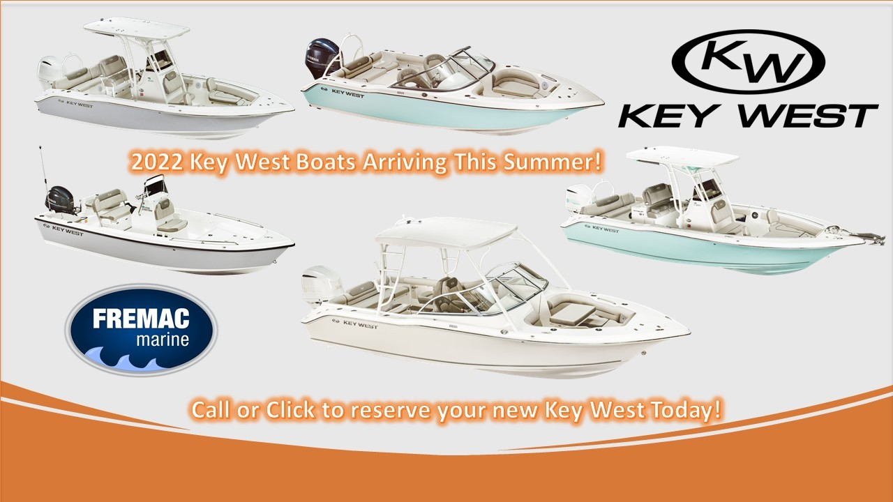 2022 Key West Boats Arriving This Summer!